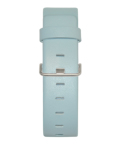 JACOB JENSEN Strata 36mm Leather Strap Light Blue