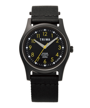 TRIWA TIME FOR OCEANS JAPAN LIMITED ブラック×イエロー