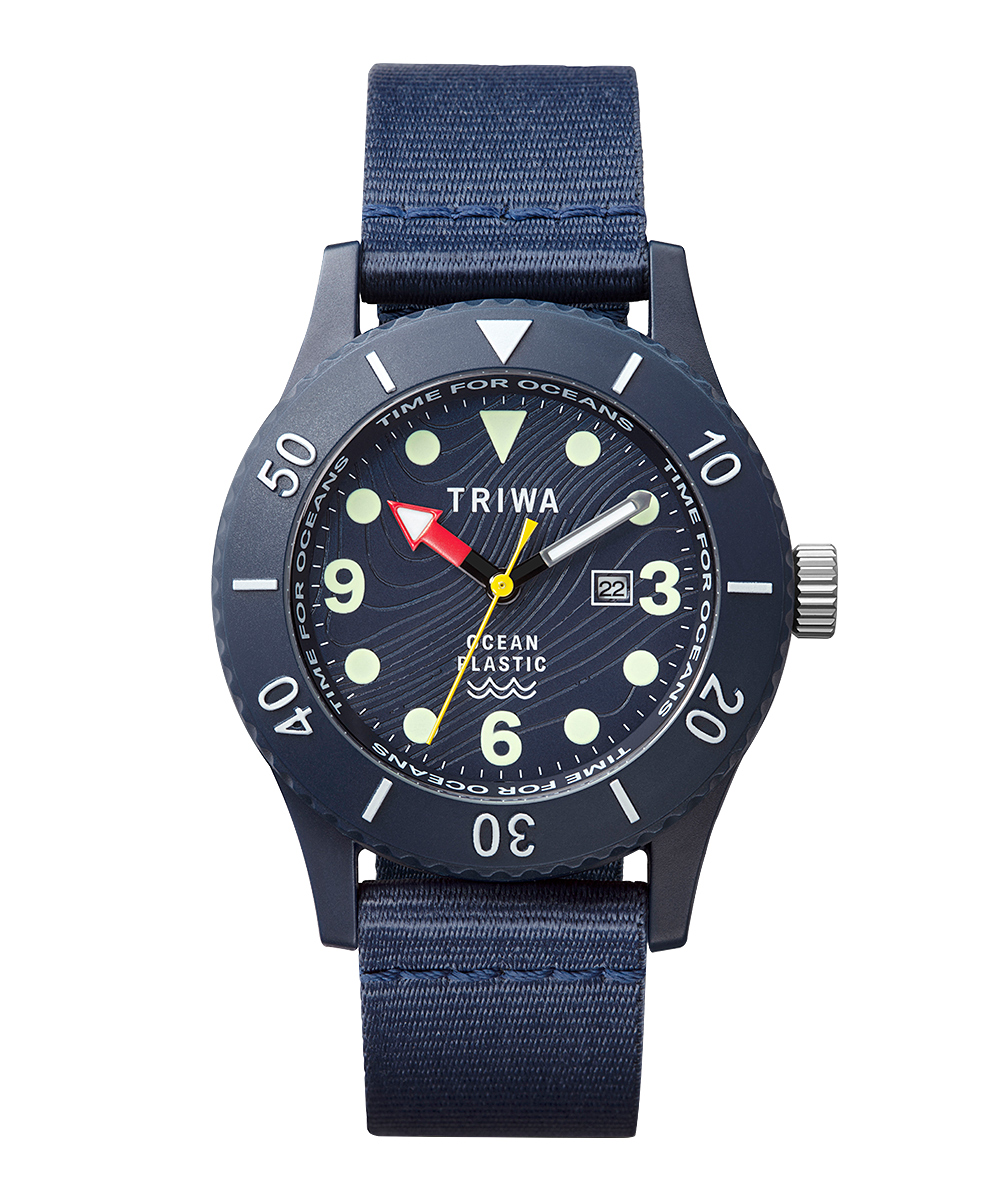 TRIWA TIME FOR OCEANS SUBMARINER DEEP BLUE ディープブルー