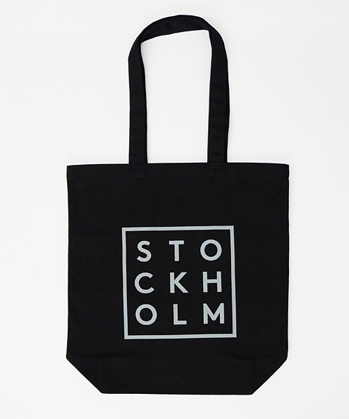 TRIWA TOTE BAG STOCKHOLM ブラック